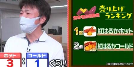 帰れマンデー 自販機旅秘境ルートで話題の紅はるか焼き芋自販機設置場所 埼玉県鴻巣