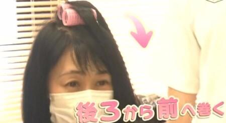NHKあさイチ 女性の薄毛の原因と対策 薄毛専門美容院の髪型テクニック 前髪を作る人はカーラーを使って後ろから前に