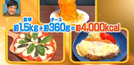 それって実際どうなの課 チーズを大量に食べるチーズダイエットの効果は?3日目の食事量トータル