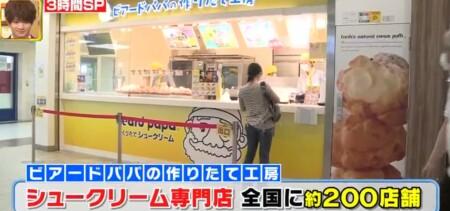 ニッポン視察団2021夏 外国人が選ぶ最強ジャパンスイーツランキングベスト40 第13位 ビアードパパ シュークリーム