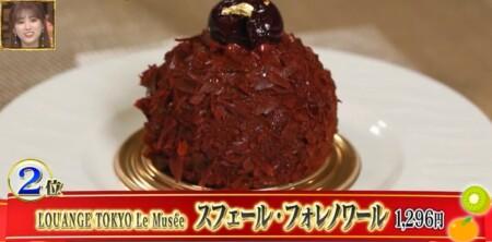 今くら タナバーイーツ第3弾で紹介された究極差し入れスイーツランキングベスト7は?第2位 LOUANGE TOKYO Le Musee