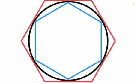 円周率に終わりがないのはなぜ?円周率とは何?多角形を二つ使うアルキメデス チコちゃんに叱られる