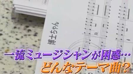 博士ちゃん 番組テーマ曲を作曲・葉加瀬太郎が初披露 制作途中の博士ちゃんの楽譜
