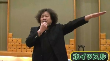 博士ちゃん 番組テーマ曲を作曲・葉加瀬太郎が初披露 学ラン姿の応援団スタイルでホイッスル