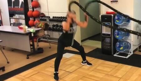 徹子の部屋 筋肉ばあば・瀧島未香と黒柳徹子のトレーニング&タキミカ流簡単筋トレ バトルロープ