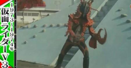 林修の今でしょ講座 今仮面ライダーでしょ 歴代仮面ライダーが特撮の歴史を変えた名シーン一覧 仮面ライダーV3 甲羅崩し