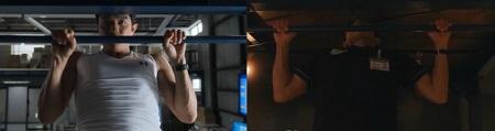 TOKYO MER 喜多見チーフ(鈴木亮平)の筋肉&筋トレシーンまとめ 喜多見先生の第10話の懸垂シーンと第1話を比較