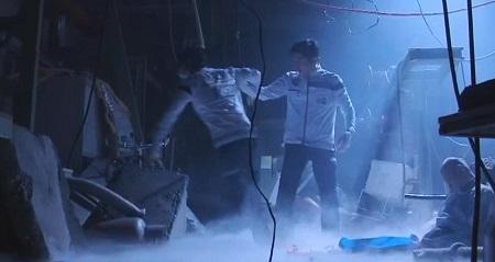 TOKYO MER 喜多見チーフ(鈴木亮平)の筋肉&筋トレシーンまとめ 第11話 最終話 まるで社交ダンス?な音羽先生&喜多見先生