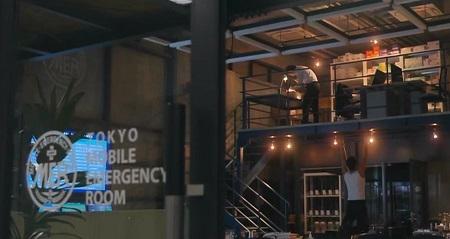 TOKYO MER 喜多見チーフ(鈴木亮平)の筋肉&筋トレシーンまとめ 第5話 懸垂シーン ボトム