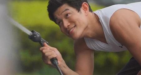 TOKYO MER 喜多見チーフ(鈴木亮平)の筋肉&筋トレシーンまとめ 第6話 肩の筋肉