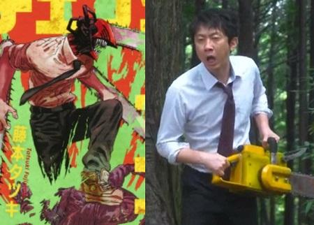 『ハコヅメ』ドラマ実写化キャストと漫画原作キャラクターの絵を比較【ネタバレ注意】 チェーンソー男