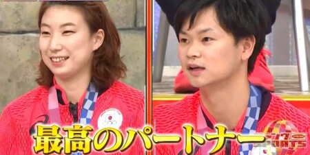 ジャンクSPORTS バド混合ダブルス渡辺東野ペアの付き合ってる?胸キュンエピソード集 最高のパートナー