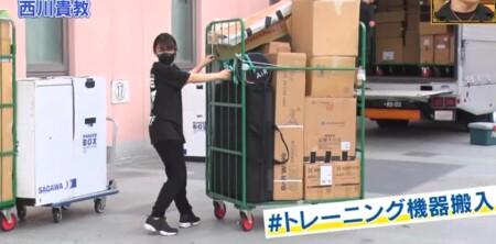 ダウンタウンDX 西川貴教が楽屋に持ち込むトレーニング機器20種類はスタッフが事前に搬入