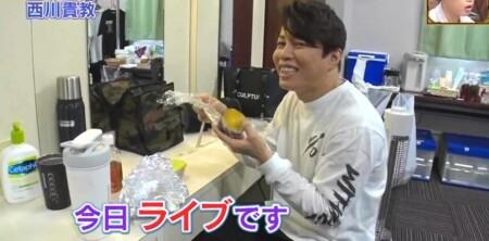 ダウンタウンDX 西川貴教のライブ前の食事はサツマイモ