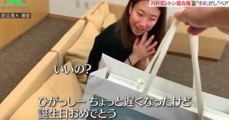 バース・デイ わたがしペアの付き合ってるカップルのような誕生日プレゼント選び 東野有紗をひがっしー呼び