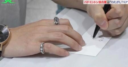 バース・デイ わたがしペアの付き合ってるカップルのような誕生日プレゼント選び 渡辺勇大の手書きメッセージ