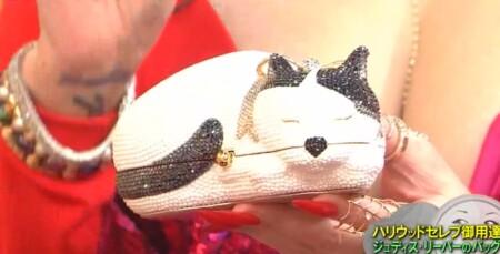 マツコの知らない世界 何も入らないバッグの世界 叶姉妹のジュディス・リーバーの猫型バッグ