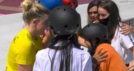ミヤネ屋 スケートボード女子パーク岡本碧優はなぜライバルたちに讃えられた?選手同士の絆