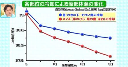 健康カプセル ゲンキの時 100%予防できる熱中症対策 太い血管よりもAVAを冷やすのが効果的
