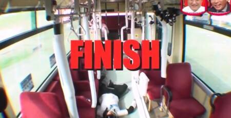 水曜日のダウンタウン 野田クリスタル選手権2ndステージで通路に寝てノックアウトの野田クリスタル