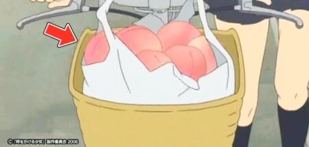 細田守監督作品に「桃」が毎回登場する意味は?時をかける少女の桃シーン