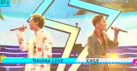 CDTVライブライブ夏フェス2021 出演者&曲順のオールセットリスト一覧 EXILE「HAVANA LOVE」
