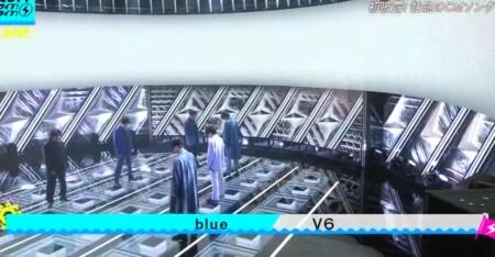 CDTVライブライブ夏フェス2021 出演者&曲順のオールセットリスト一覧 V6「blue」