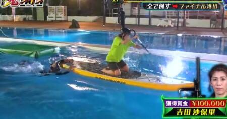 THE鬼タイジ 2021夏の出演メンバーと結果を総まとめ プールステージ 吉田沙保里の脱落の瞬間