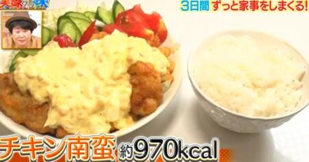 それって実際どうなの課 家事ダイエットのカロリー消費で痩せる?餅田コシヒカリ検証結果 1日目夕食