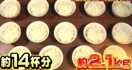 それって実際どうなの課 白米黄金比率ダイエットのチャンカワイ検証結果 3日目は6合