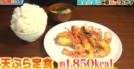 それって実際どうなの課 白米黄金比率ダイエットのチャンカワイ検証結果 3日目食事 天ぷら