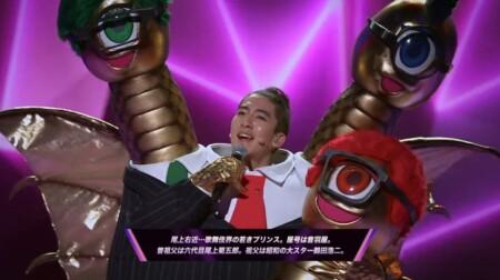 マスクドシンガー日本版 出演者や歌唱曲などのネタバレ。あのコスプレの正体は誰?EP01 マスクを脱いで歌う尾上右近