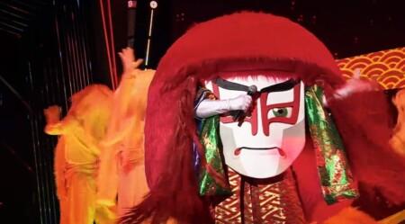 マスクドシンガー日本版 出演者や歌唱曲などのネタバレ。あのコスプレの正体は誰?EP01 連獅子