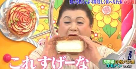 マツコの知らない世界 ローカルパンの世界で酒井雄二が紹介した全国ご当地パン一覧 長野 牛乳パン
