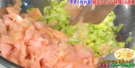 マツコの知らない世界 新生姜の世界で豊田真奈美が紹介した新生姜アレンジレシピ一覧 新生姜餃子の餡