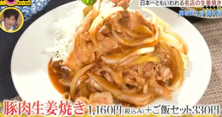 SHOWチャンネル 櫻井翔の名店レシピのゲスト出演者&レシピ一覧 第1回 豚の生姜焼き