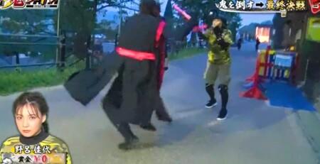 THE鬼タイジ 2021年9月26日の出演者と結果をネタバレ 野呂佳代の2回目脱落シーン