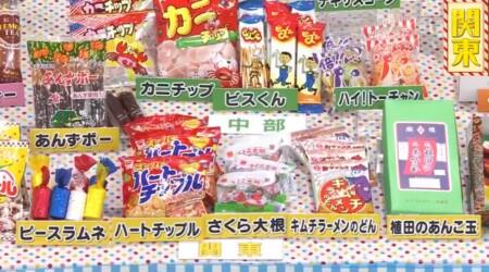 アメトーーク3時間SP 第2弾 駄菓子大好き芸人の出演者 関東のローカル駄菓子