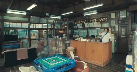 ドクターX 2021 シーズン7 神原名医紹介所の飼い猫ベンケーシー&ギャノン登場シーンまとめ 第1話 麻雀卓の椅子に座るベンケーシー