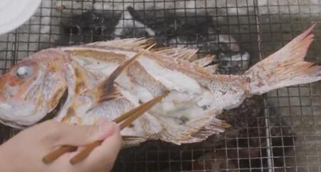 ラジエーションハウス2 大森渚先生(和久井映見)のクセ強ドリンク&謎の食べ物まとめ 第1話 美澄島で魚の網焼き