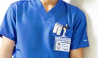 医療ドラマで首元にクリップしている長方形タグ(名札)の正体や名前は?ラジエーションハウス2 窪田
