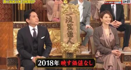 芸能人格付けチェック 2021秋 出演者のチーム分け チームドクターX 米倉涼子、勝村政信